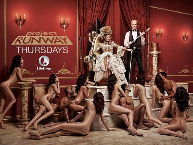 В Соединенных Штатах запретили открытую рекламу шоу Хайди Клум (фото)