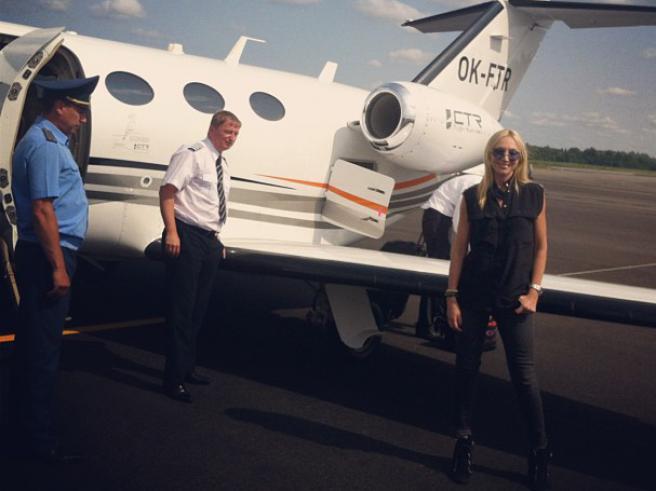 Кристине Орбакайте презентовали самолет? (фото)