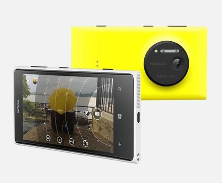 Нокия продемонстрировала «камерофон» Люмия 1020