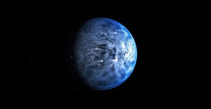 Исследователи нашли планету, обработанную стеклом (ФОТО)