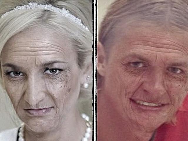 О. Бузова продемонстрировала, как будет смотреться в старости (фото)