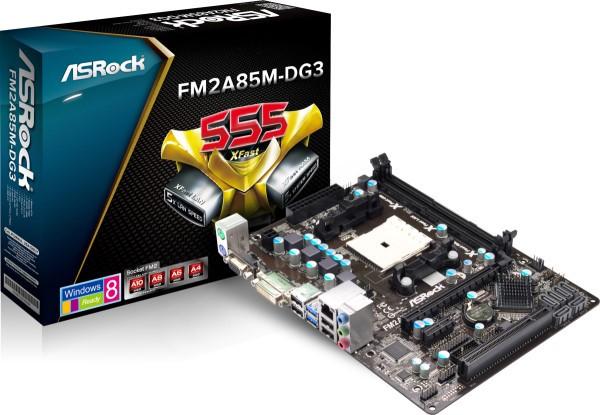 ASRock произвела оплату FM2A85M-DG3 формата Micro-ATX
