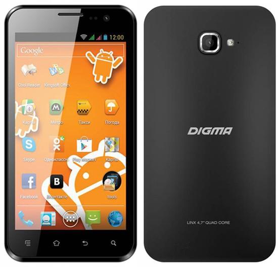 Digma Linx 4.7: свежий 3G-смартфон
