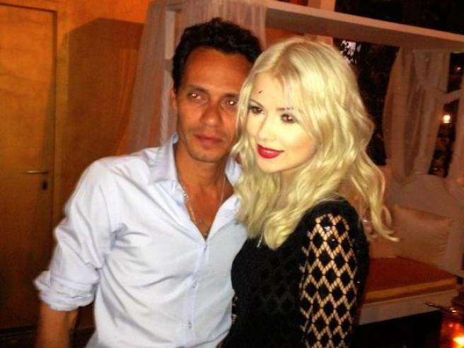Мика Ньютон провела ночь с экс-супругом Джей Ло (фото)