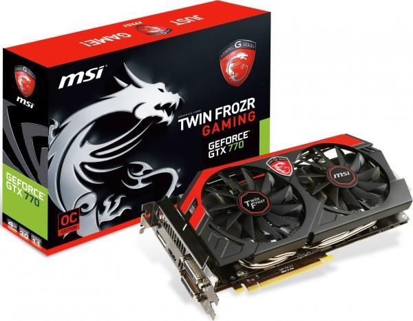 MSI GeForce GTX 770 Gaming с 4 Гигабайт памяти готов к выходу