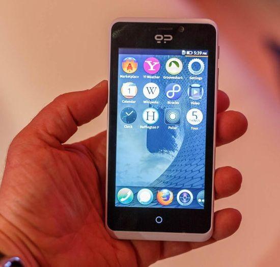 Geeksphone Peak+: самый производительный телефон на основе Firefox OS