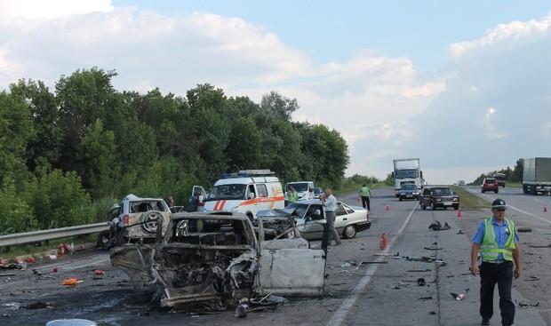 Виновником ДТП на Одесской автотрассе оказался житель России