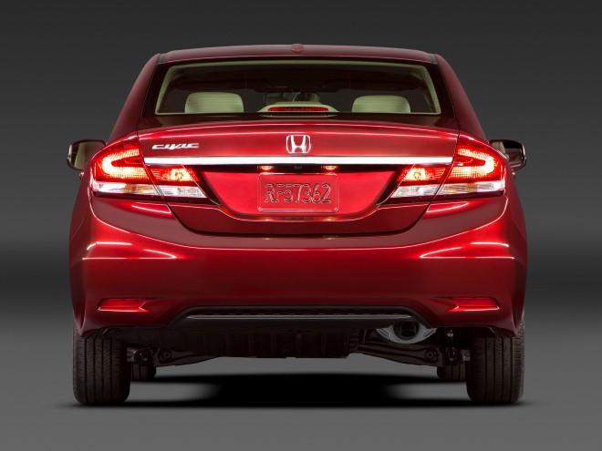 Начало продаж новой Хонда Цивик на Украине