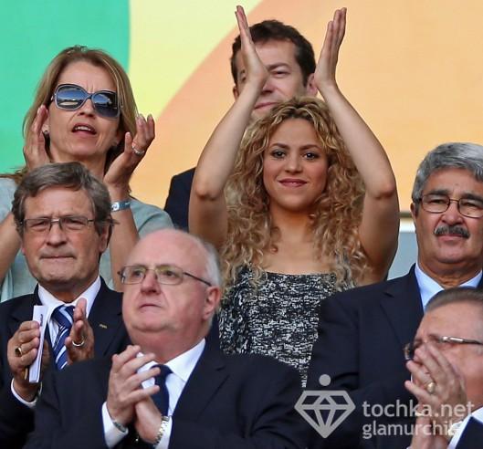 Шакира спровоцировала дебош на футбольном поединке