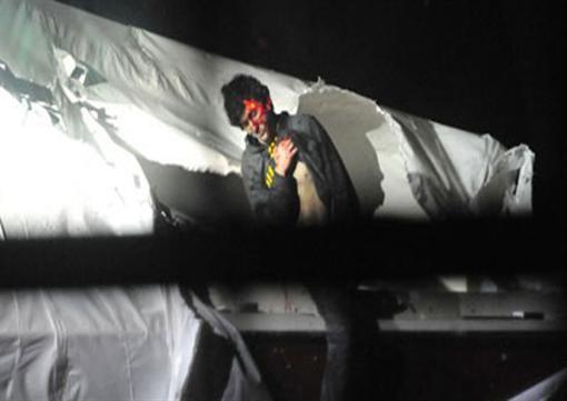 Опубликованы фотографии задержания Джохара Царнаева