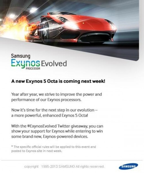 «Самсунг» представит современную версию чипа Exynos 5 Octa