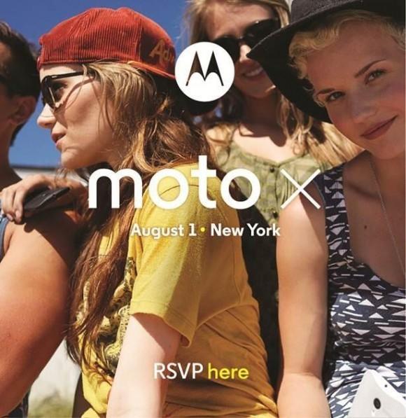 Motorola установила анонс телефона Moto X на 1 сентября