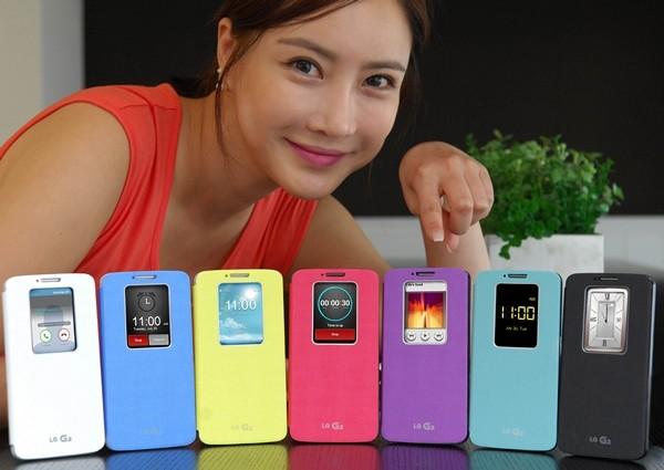 LG представила яркие чехлы для флагманского смартфона