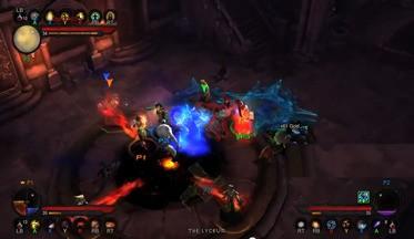 Diablo 3 - геймплей на Xbox 360