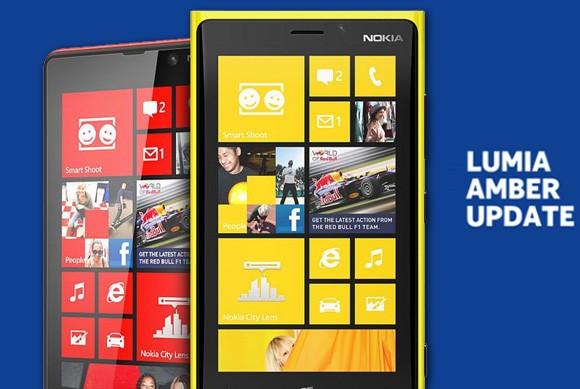 Обновление Nokia Amber доступно для Nokia Lumia 920