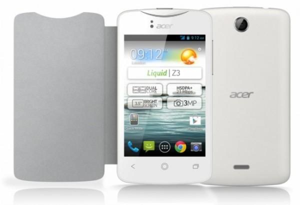 Acer Liquid Z3: недорогой смартфон