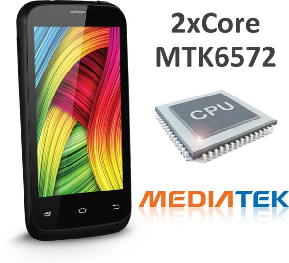 "teXet X-basic: 4"" смартфон на двухъядерном чипе MediaTek"