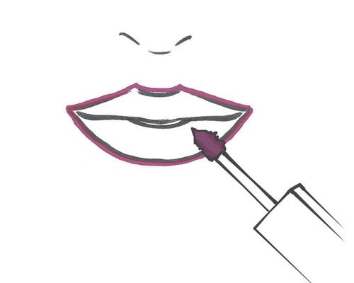 Грим губ: как зрительно повысить губки (фото)