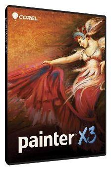 Corel произвела образную студию Painter X3