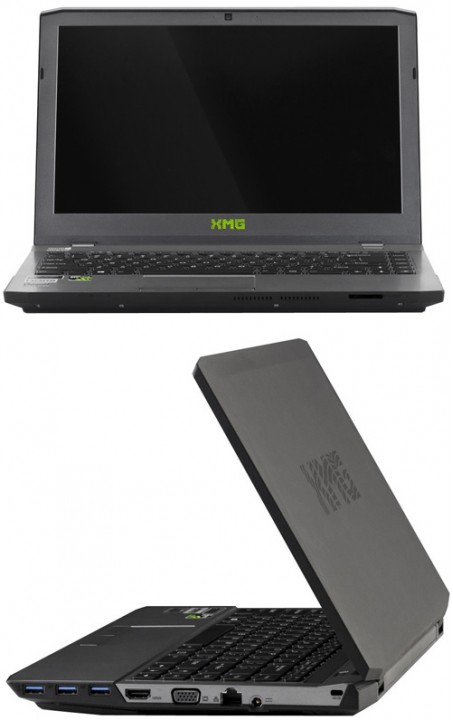 Schenker XMG P303: производительный компьютер на Intel Haswell