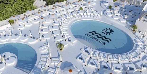 В Киеве на крыше ТРЦ Ocean Plaza будет берег с водоемами