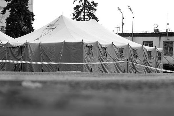 В таборе нелегалов в Гольяново захворали 20 мигрантов