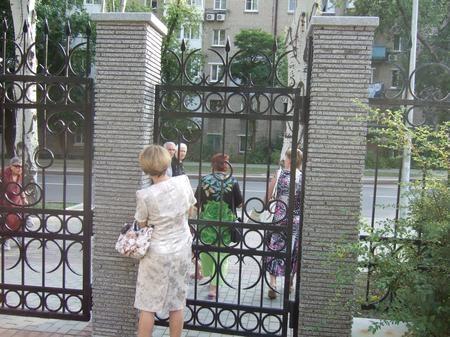 В Донецке людей не производили из парка из-за смерти строителя