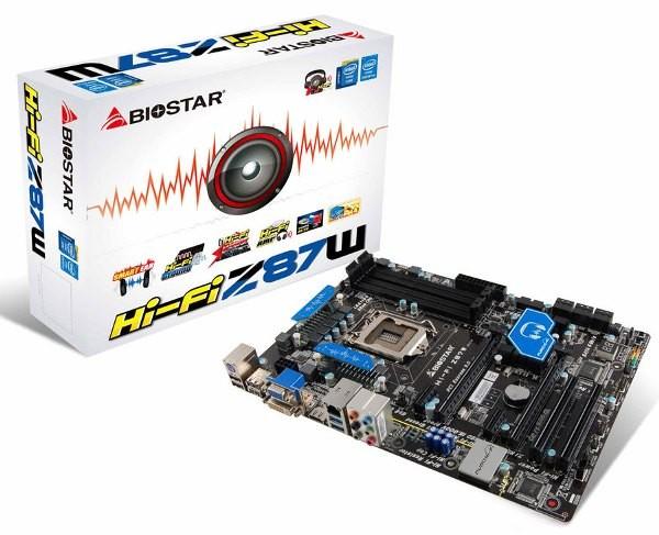 Biostar Hi-Fi Z87W: оперативная память для CPU Intel Haswell