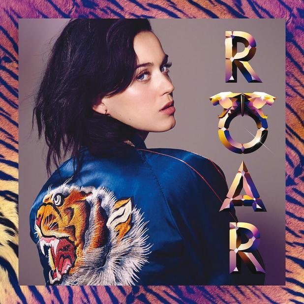 """Кэти Перри опубликовала обложку сингла """"Roar"""