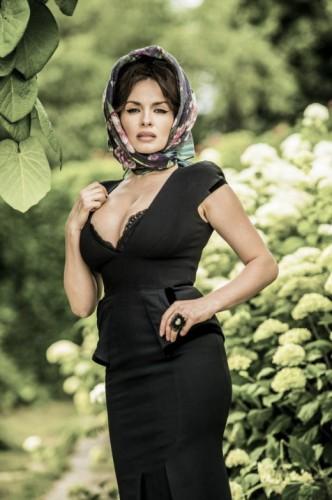 Вера Мейхер встала в виде Моники Беллуччи (фото)