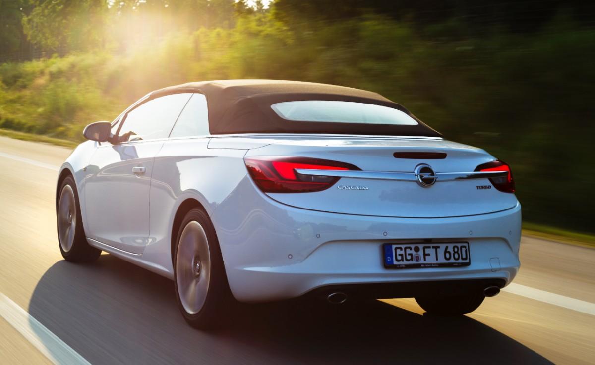 Opel представит свой самый мощный кабриолет