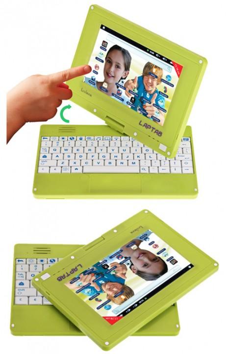 Lexibook Laptab: детский ноутбук-планшет