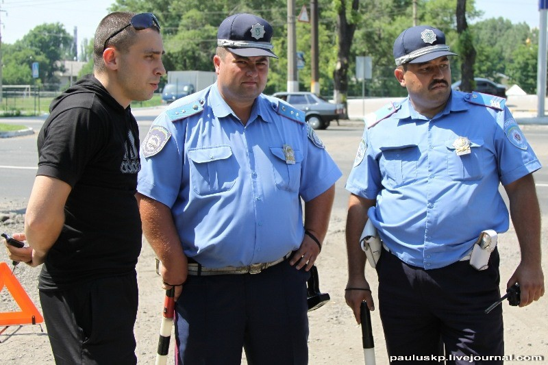 """В Донецке на постах ГАИ проходит процедура """"Банкрот"""""""
