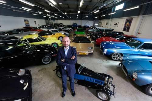 Жерар Лопес - обладатель самой крупной коллекции автомашин в Европе