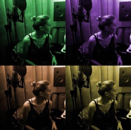 Ева Бушмина перешла к записи свежих песен (фото)