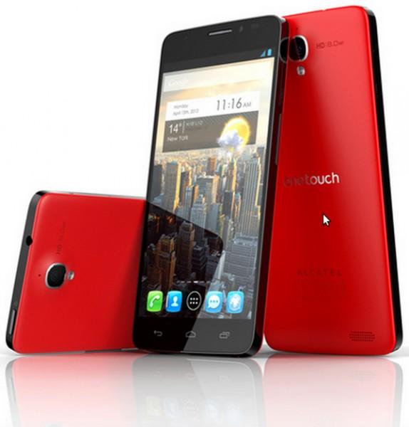 Телефон Alcatel One Touch Idol X представлен официально