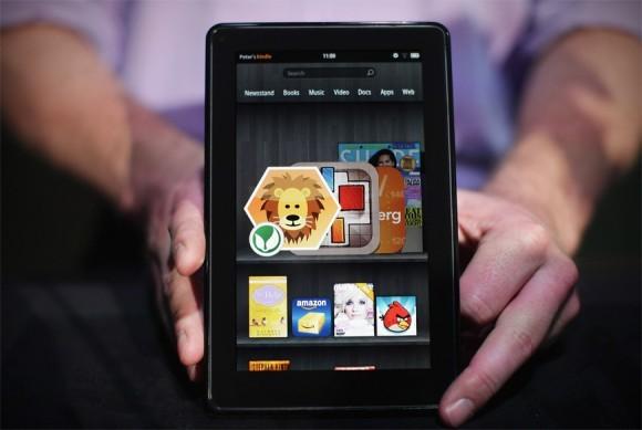 Amazon Kindle Fire нового поколения в деталях