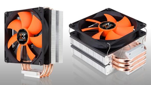 XIGMATEK Gaia II: микропроцессорный вентилятор с непосредственным контактом