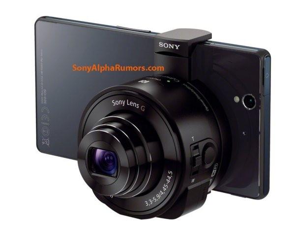 Сони Cyber-shotDSC-QX10: объективы для телефонов