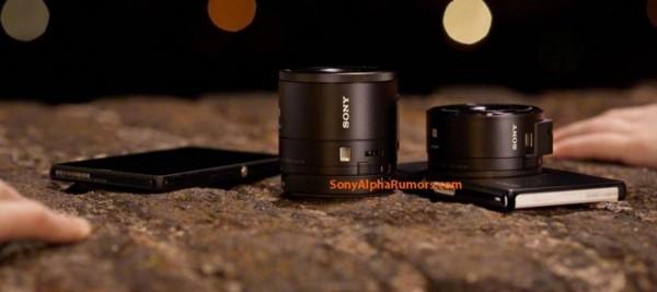 Sony Cyber-shotDSC-QX10: объективы для смартфонов