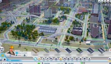SimCity: инструмент поднять/опустить дорогу