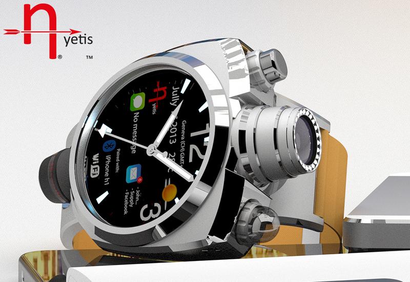 Умные часы Hyetis Crossbow с 41-мегапиксельной камерой