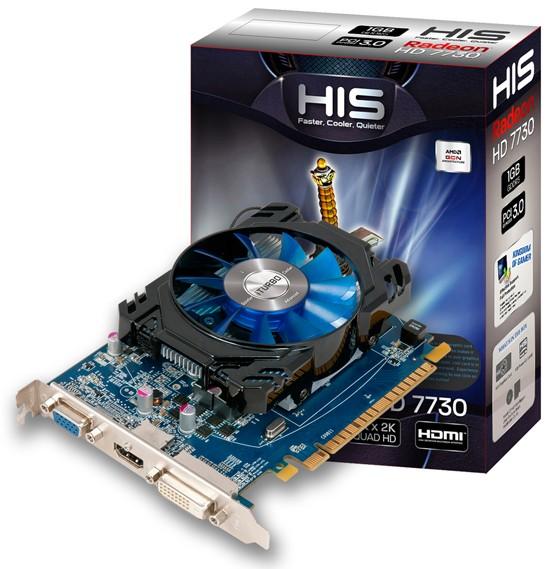 HIS Radeon HD 7730 iCooler в 2-ух версиях