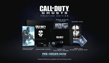 Состав коллекционных изданий Call of Duty: Ghosts,(ВИДЕО)