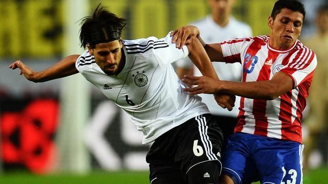 Сборная Германии не сумела выиграть южноамериканцев