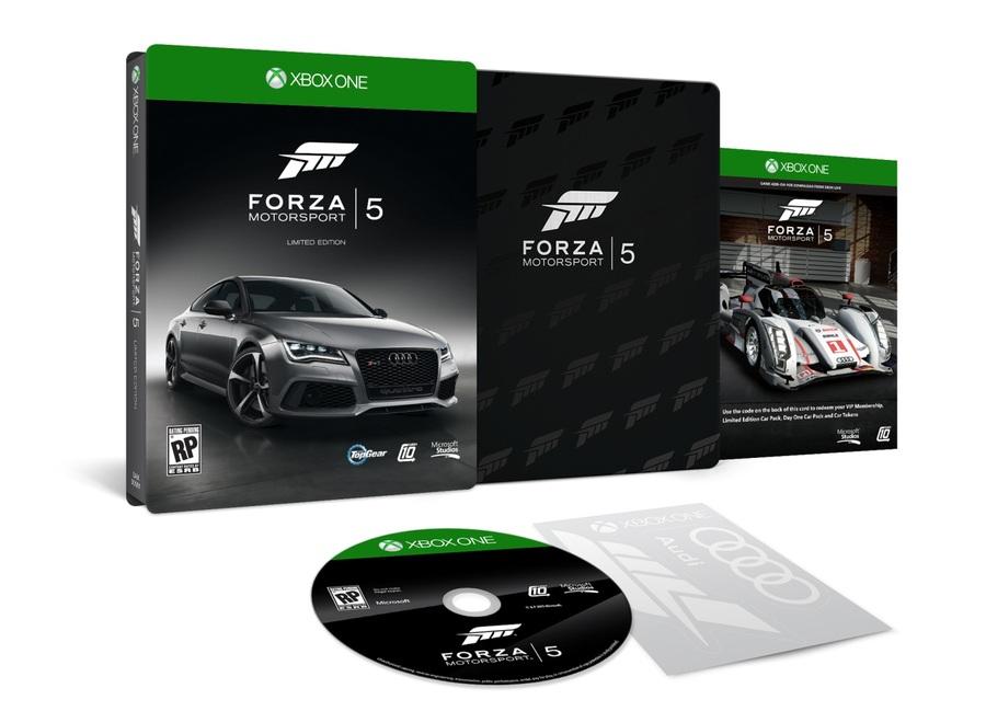 Анонсировано 2 издания для Forza Моторспорт 5