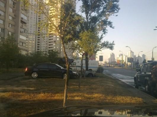 В столице в ночное время пылал авто (ФОТО)
