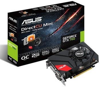 Предполагается выход адаптера ASUS GeForce GTX 760 DirectCU Мини