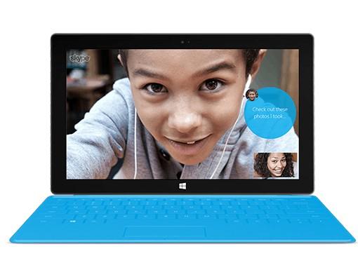 Skype подключен в стандартный набор дополнений Виндоус 8.1