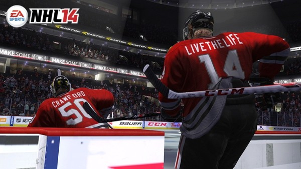 Демо-версия NHL 14  вскоре будет предлагаться